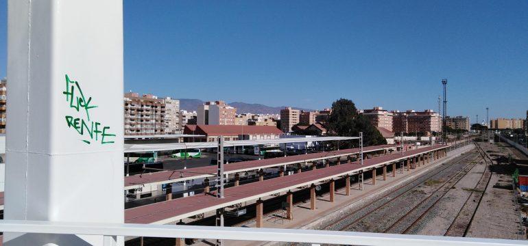 Estación Almería vías