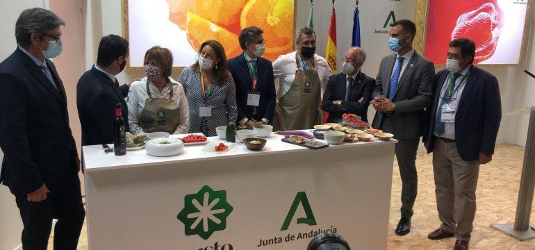 5-10-2021 Fruit Attraction Consejera, Alcalde, Presidente Diputación y Amat (2)